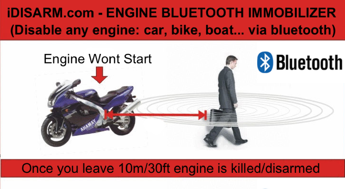 Any Engine Bluetooth Immobilizer System (Car, Truck
